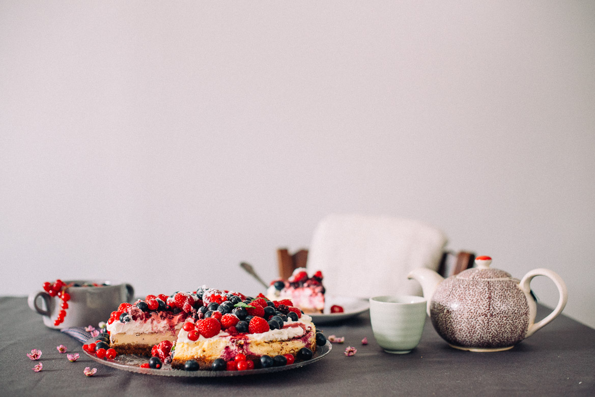 Dessert by Gigi : Recette de cheese cake aux fruits rouges